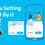 cara setting apn by.u - jaditau.my.id